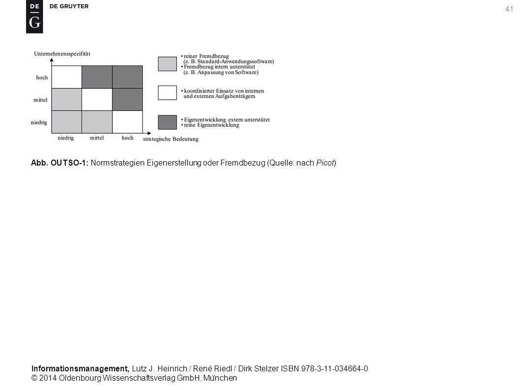 Informationsmanagement, Lutz J. Heinrich / René Riedl / Dirk Stelzer ISBN 978-3-11-034664-0 © 2014 Oldenbourg Wissenschaftsverlag GmbH, Mu ̈ nchen 41