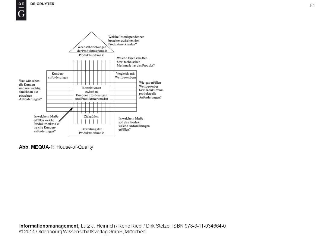 Informationsmanagement, Lutz J. Heinrich / René Riedl / Dirk Stelzer ISBN 978-3-11-034664-0 © 2014 Oldenbourg Wissenschaftsverlag GmbH, Mu ̈ nchen 81