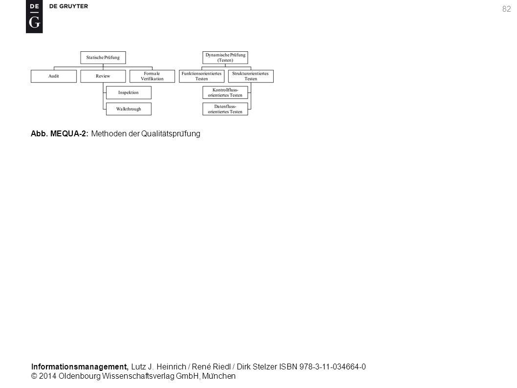 Informationsmanagement, Lutz J. Heinrich / René Riedl / Dirk Stelzer ISBN 978-3-11-034664-0 © 2014 Oldenbourg Wissenschaftsverlag GmbH, Mu ̈ nchen 82