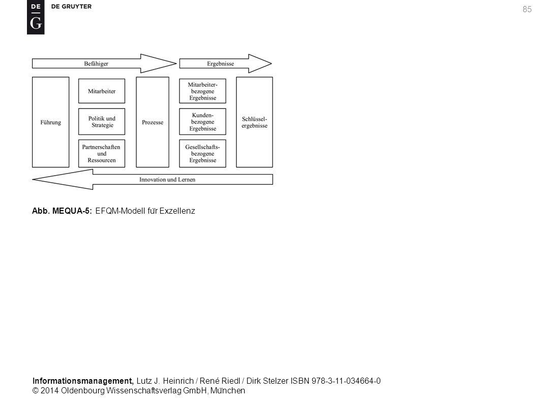 Informationsmanagement, Lutz J. Heinrich / René Riedl / Dirk Stelzer ISBN 978-3-11-034664-0 © 2014 Oldenbourg Wissenschaftsverlag GmbH, Mu ̈ nchen 85