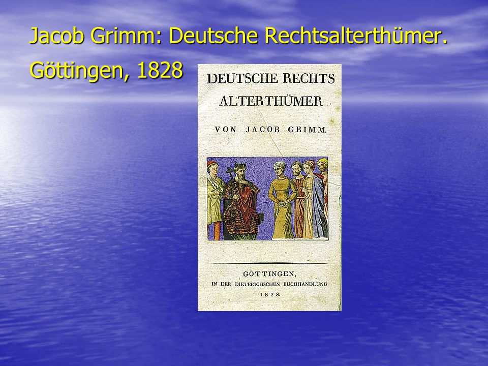 Wilhelm Grimm: Altdänische Heldenlieder, Balladen und Märchen. Heidelberg, 1811