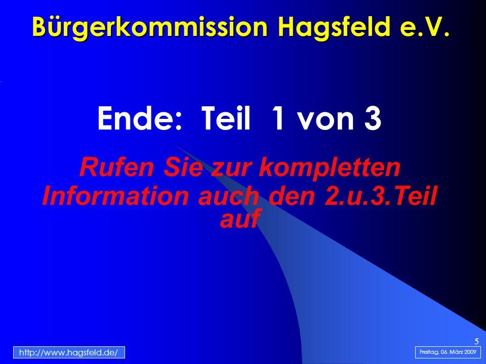5 Bürgerkommission Hagsfeld e.V.