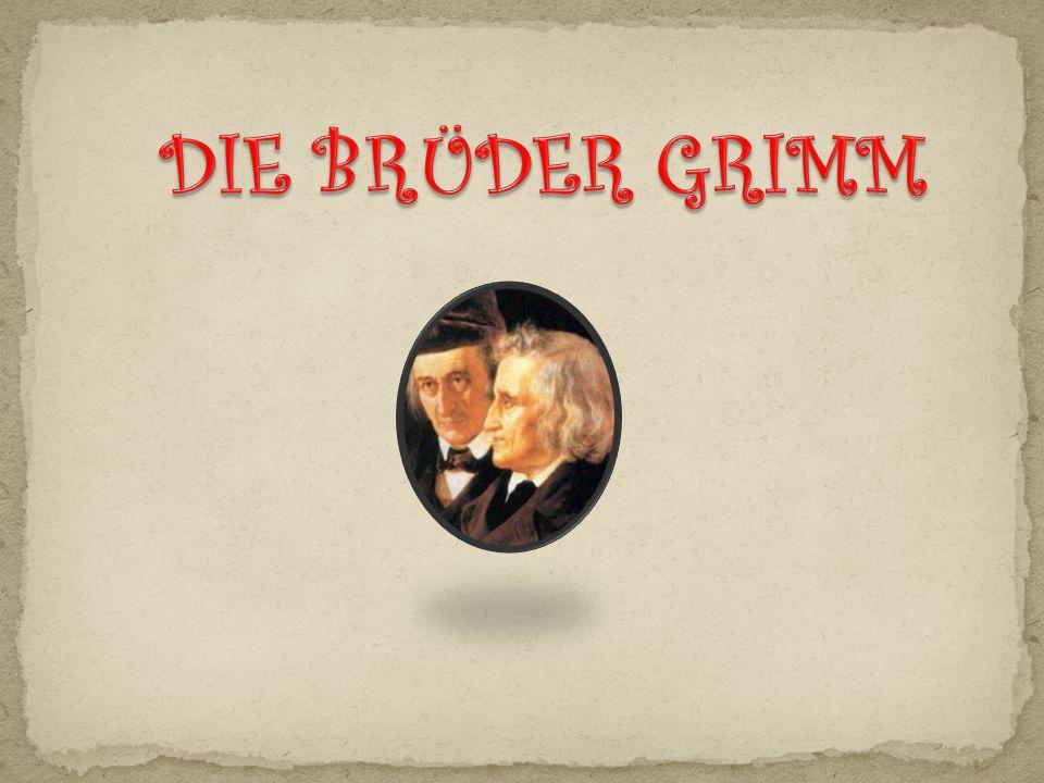 (Arbeitsblatt Jacob und Wilhelm Grimm)