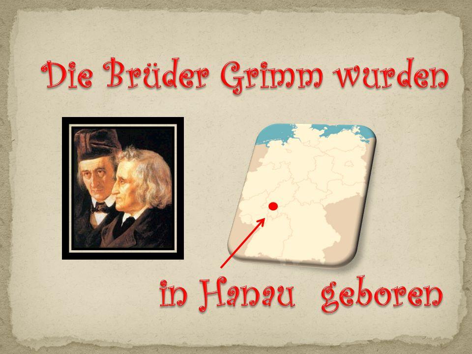 (Arbeitsblatt Die Brüder Grimm)