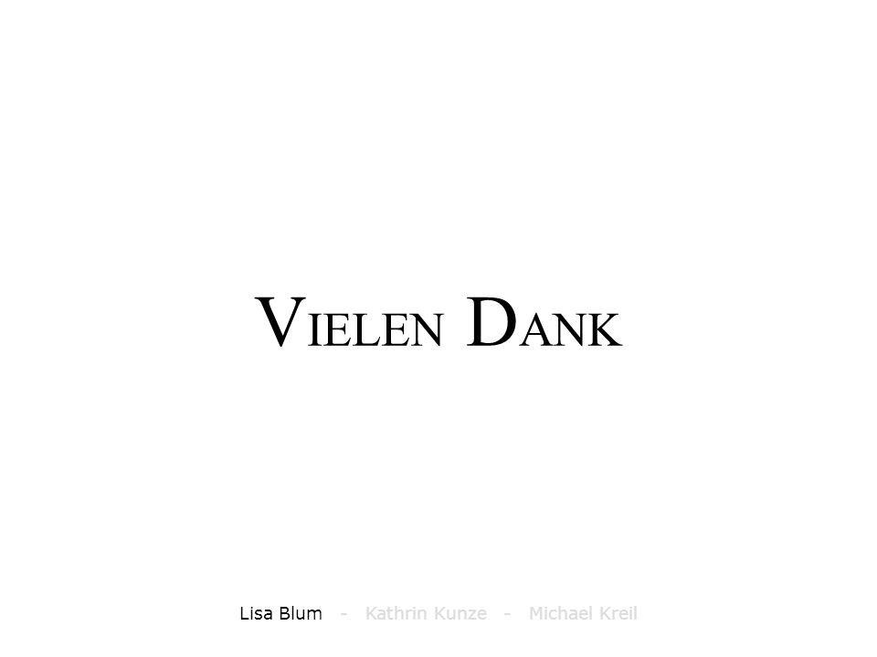 T RIANGULIERUNG Lisa Blum - Kathrin Kunze - Michael Kreil