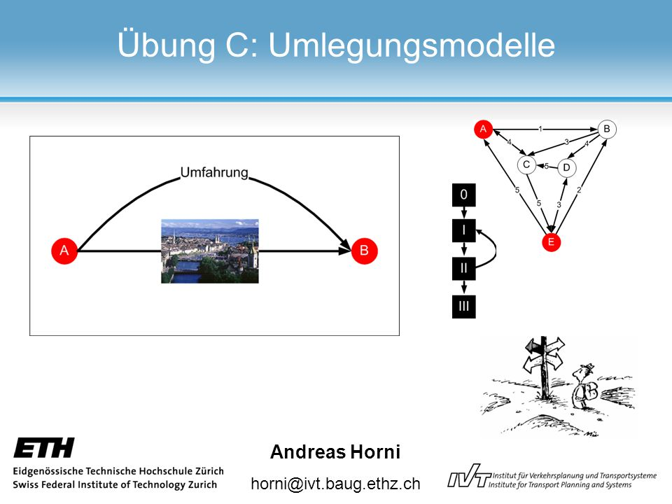 Andreas Horni horni@ivt.baug.ethz.ch Übung C: Umlegungsmodelle