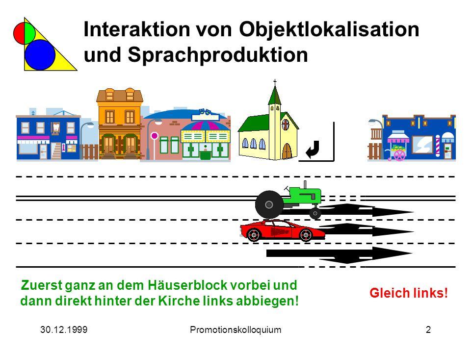 30.12.1999Promotionskolloquium93 Zur Ressourcenverteilung von Anytime-Prozessen Wo ist der schwarze Fleck.