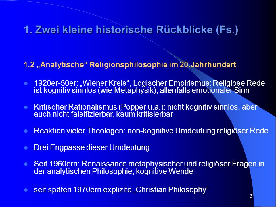 14 Manifestation beliefs implizieren die Existenz Gottes, vgl.: Calvin holds that God 'reveals and daily discloses himself in the whole workmanship of the universe,' and the divine art 'reveals itself in the innumerable and yet distinct and well-ordered varieties of the heavenly host.' God has so created us that we have a tendency or disposition to believe propositions of the sort this flower was created by God or this vast and intricate universe was created by God when we contemplate the flower or behold the starry heavens or think about the vast reaches of the universe.