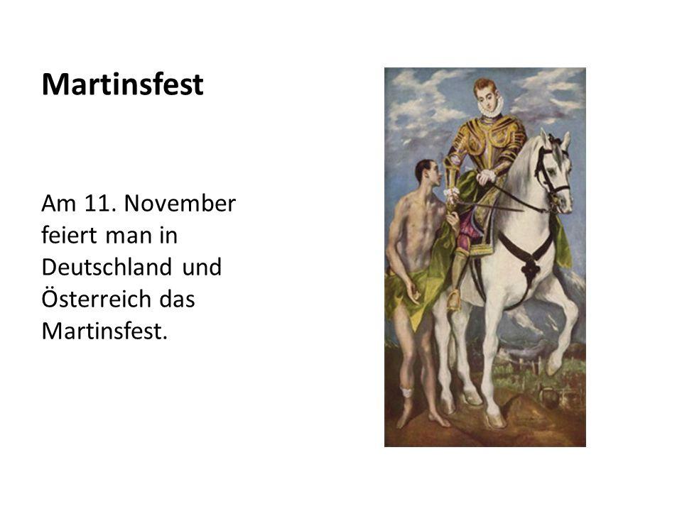Wer war Martin.Martin wurde 316 nach Christus in Ungarn geboren.