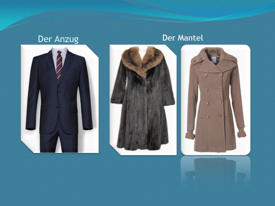 Der Anzug Der Mantel