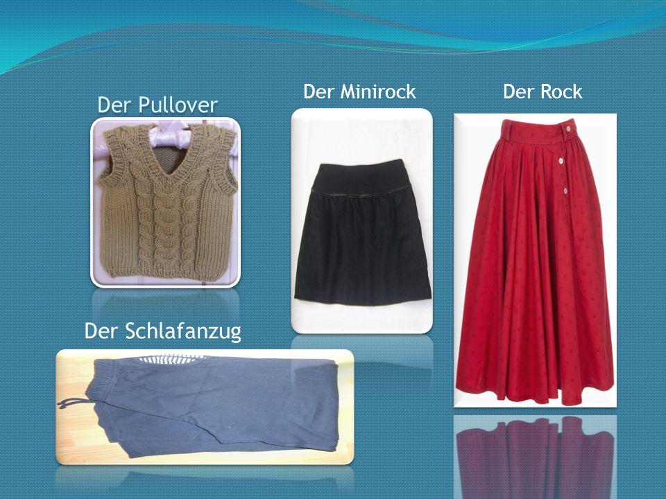 Der Pullover Der Schlafanzug Der MinirockDer Rock
