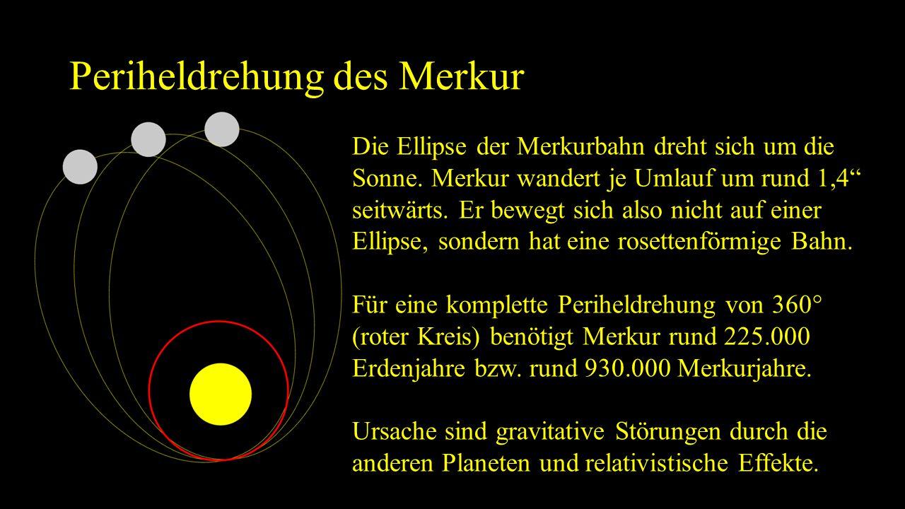 Oberfläche des Merkur ähnlich der Mondoberfläche von Kratern übersät.