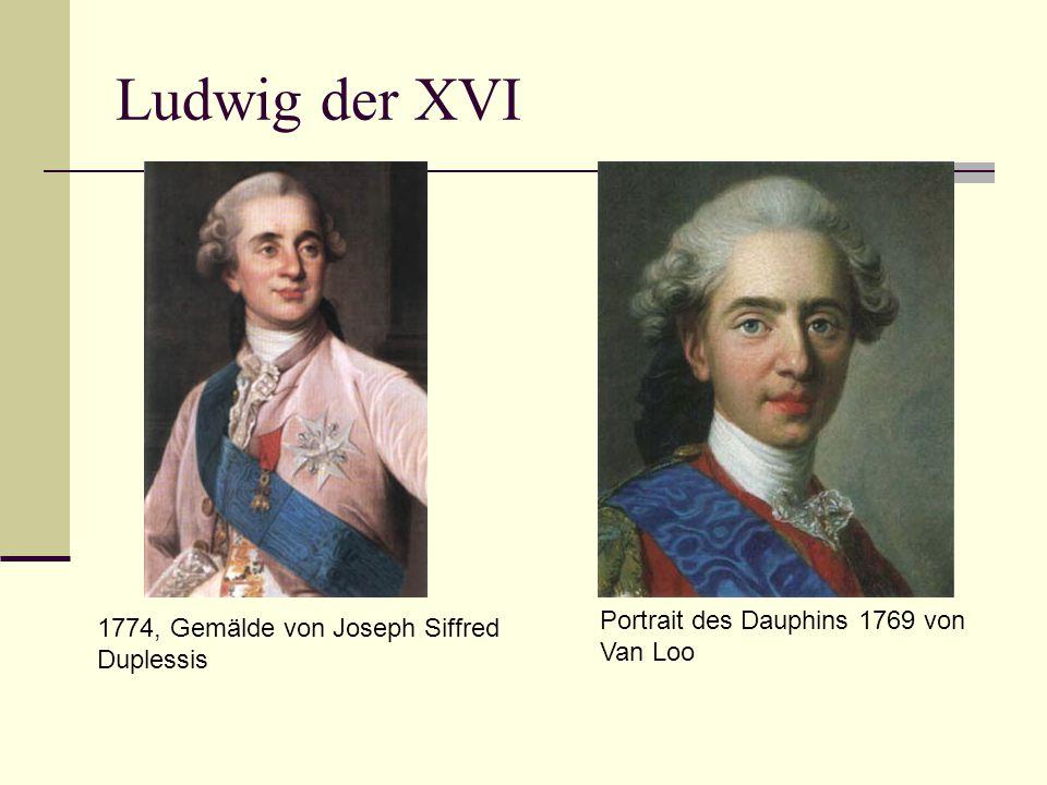 Ludwig der XVI Portrait des Dauphins 1769 von Van Loo 1774, Gemälde von Joseph Siffred Duplessis