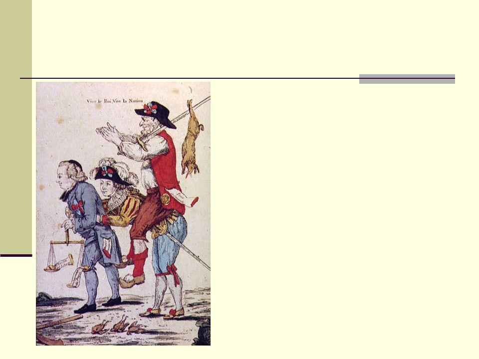 Freiheit und Gleichheitsreiter Spottblatt auf die revolutionäre Ordnung in Frankreich.