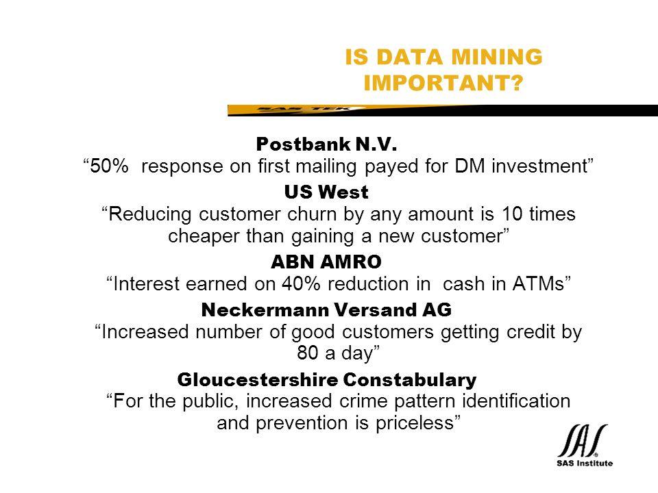 SAS Technical Expertise and Know-how ® Zusammenfassung SAS Enterprise Miner:  Modelliert Data Mining als einen Prozess  Ermöglicht Kooperation von IT, Business und Data Miners  Vollständige SEMMA Implementation  Integration von DW, DM and Reporting Wettbewerbsvorteil durch Data Mining