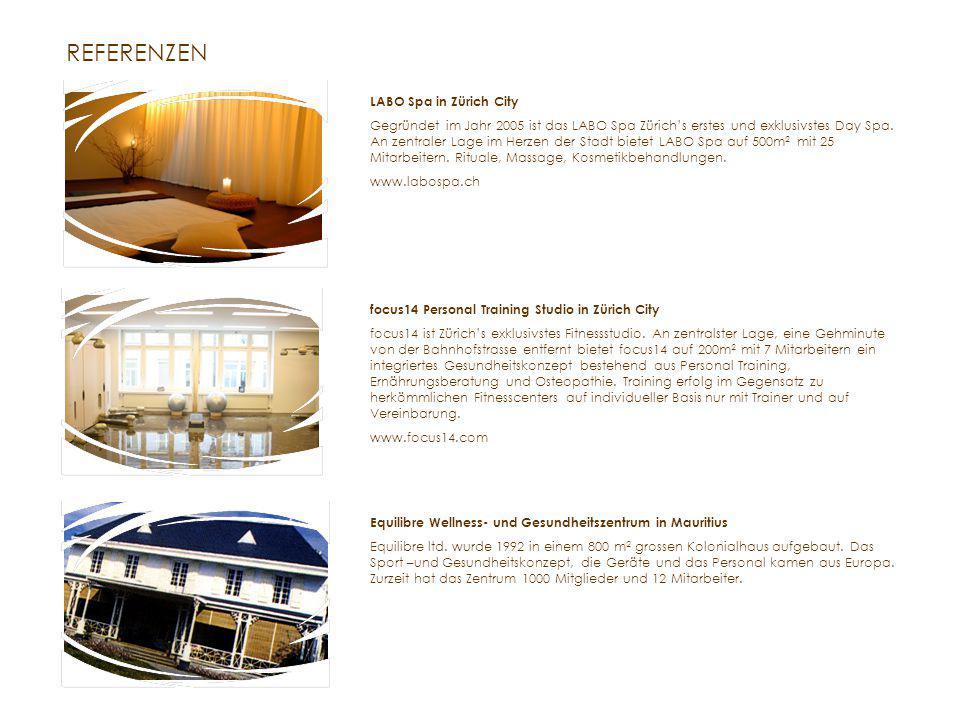 REFERENZEN LABO Spa in Zürich City Gegründet im Jahr 2005 ist das LABO Spa Zürich's erstes und exklusivstes Day Spa.