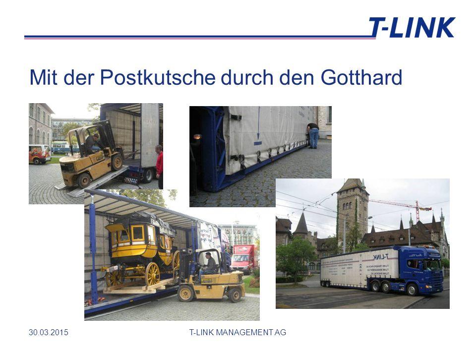 Mit der Postkutsche durch den Gotthard 30.03.2015T-LINK MANAGEMENT AG