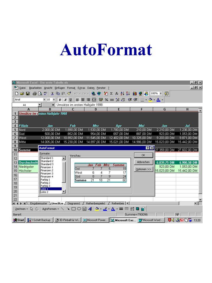 AutoFormat