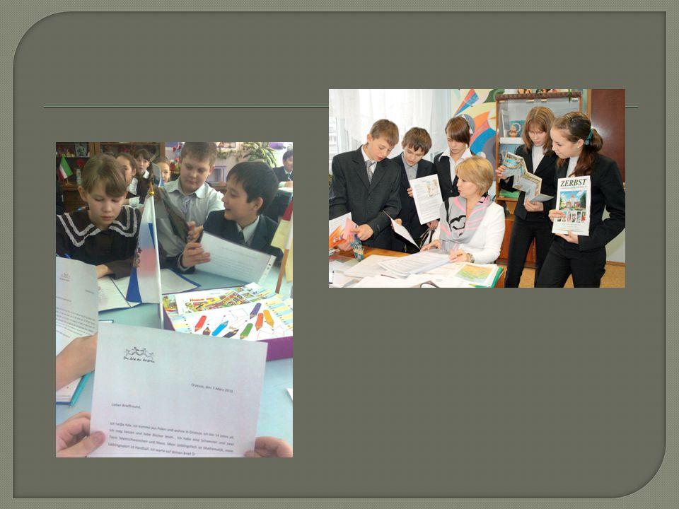  Was das Projekt bringt:  die SchülerInnen können v.a.