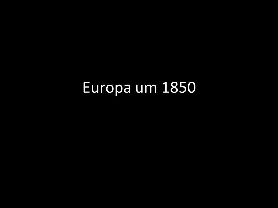 Europa um 1850