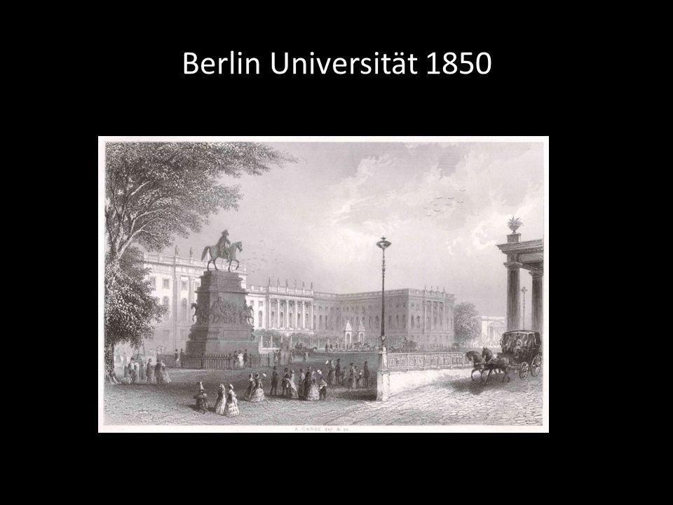 Berlin Universität 1850