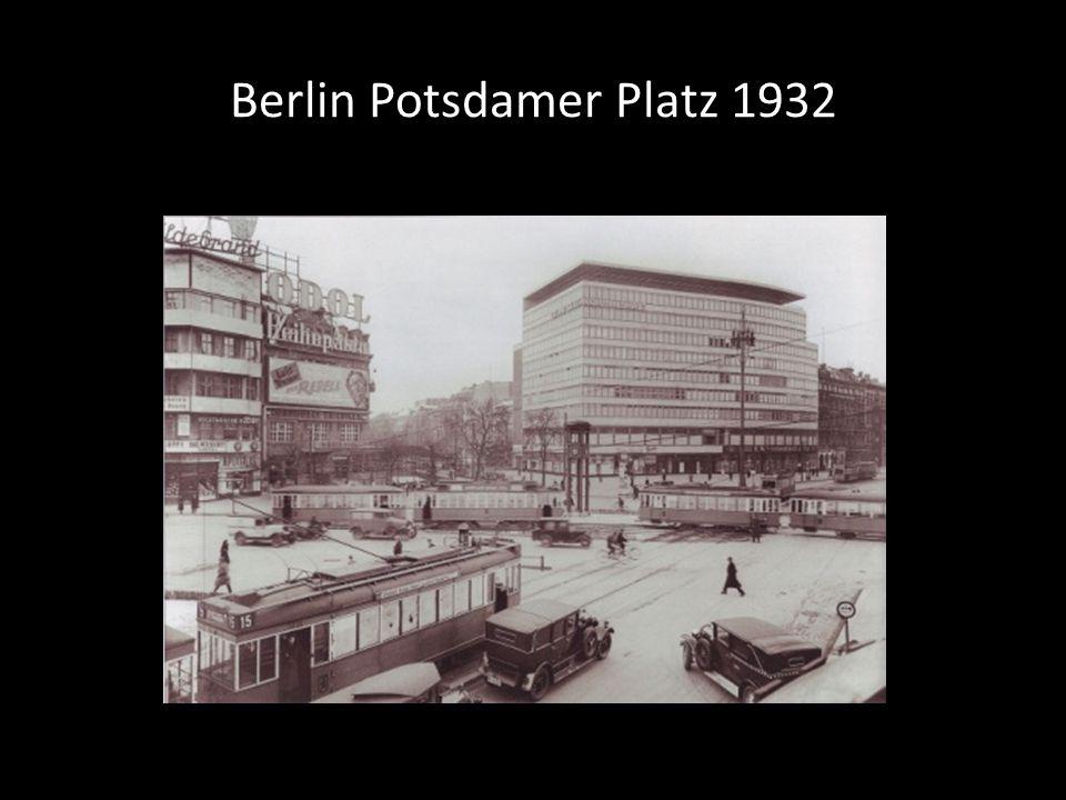 Berlin Potsdamer Platz 1932