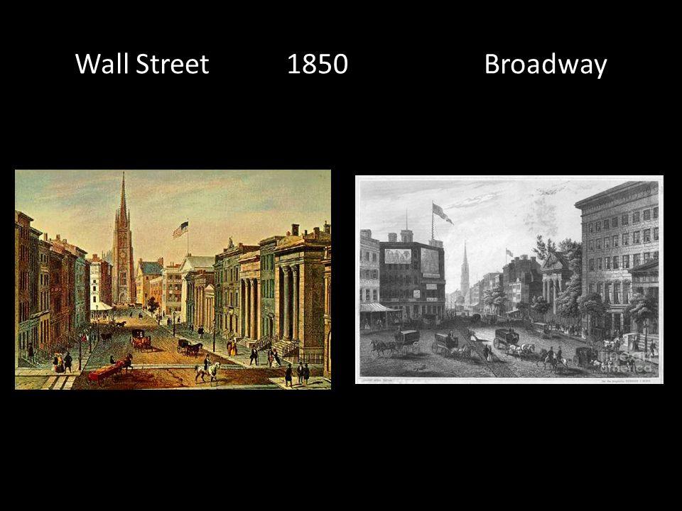 Wall Street 1850 Broadway