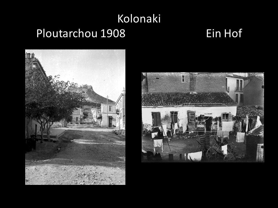 Kolonaki Ploutarchou 1908 Ein Hof