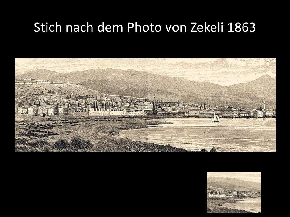 Stich nach dem Photo von Zekeli 1863