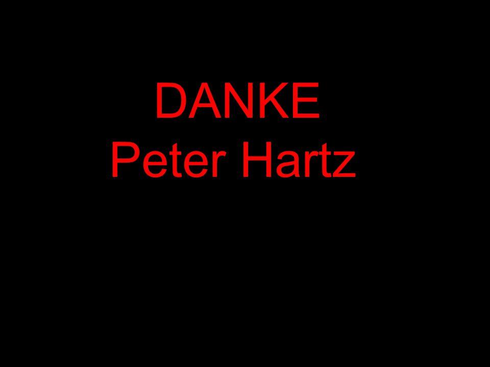 ... DANKE Peter Hartz