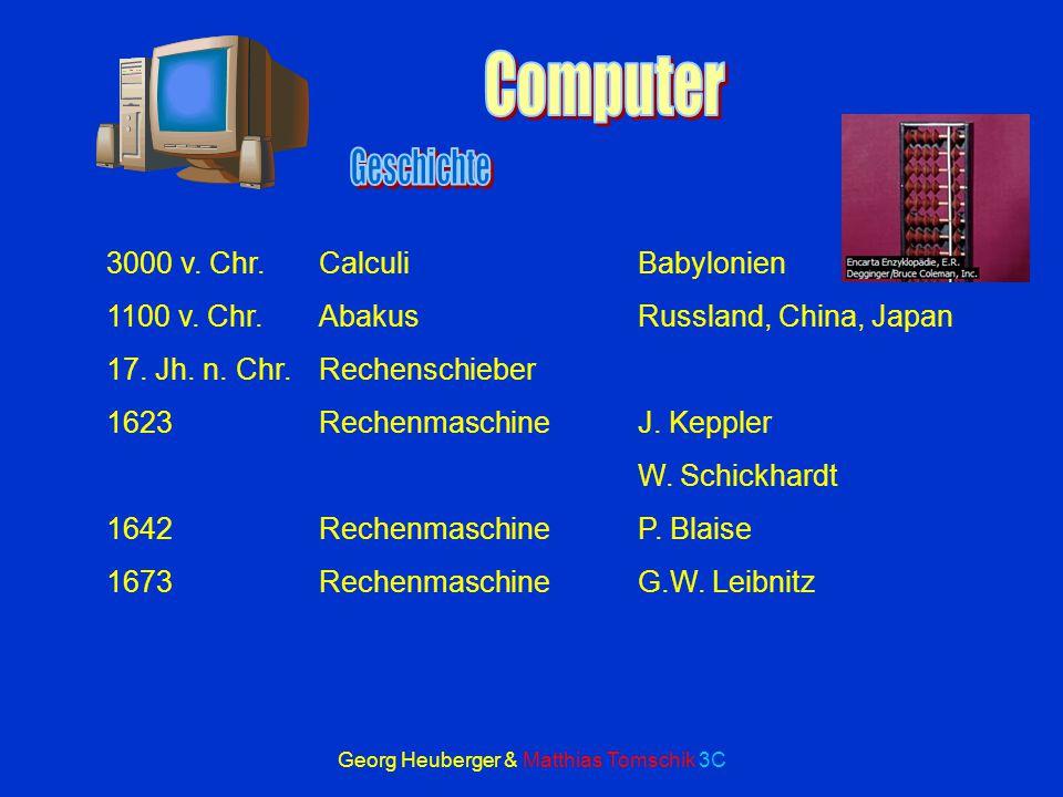 Georg Heuberger & Matthias Tomschik 3C