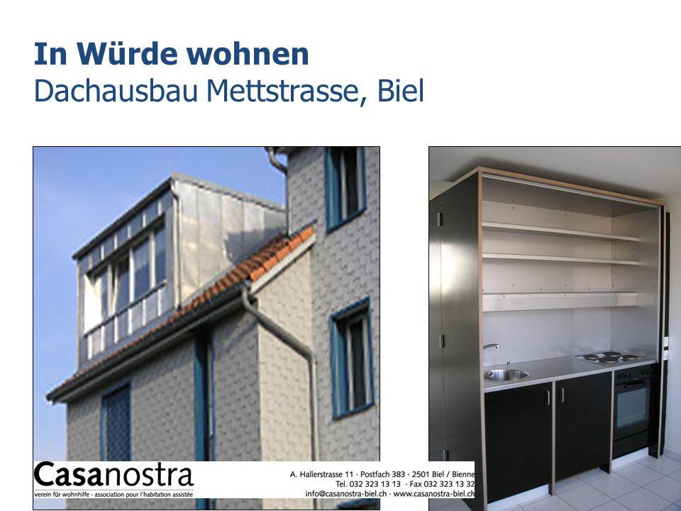 In Würde wohnen Dachausbau Mettstrasse, Biel 13