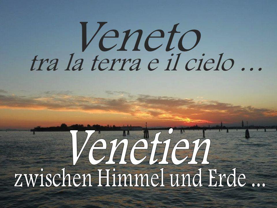 Venetien ist die achtgrößte Region Italiens und hat 4,9 Millionen Einwohner.