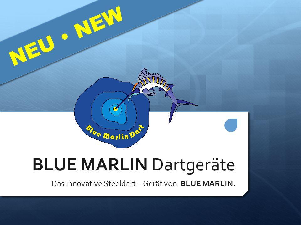 BLUE MARLIN Dartgeräte Das innovative Steeldart – Gerät von BLUE MARLIN. NEU  NEW