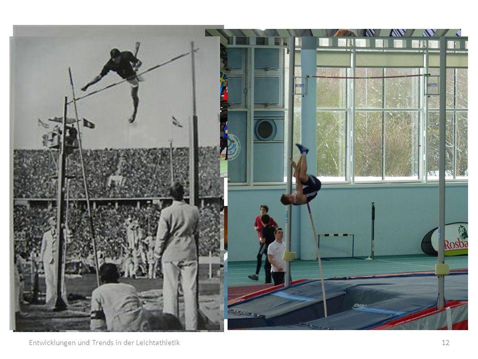 Entwicklungen und Trends in der Leichtathletik12