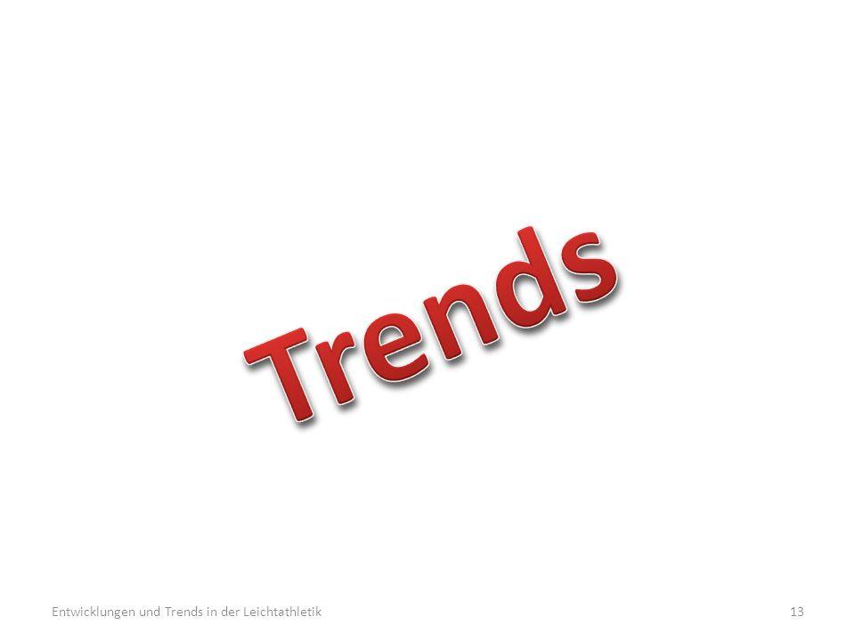 Entwicklungen und Trends in der Leichtathletik13