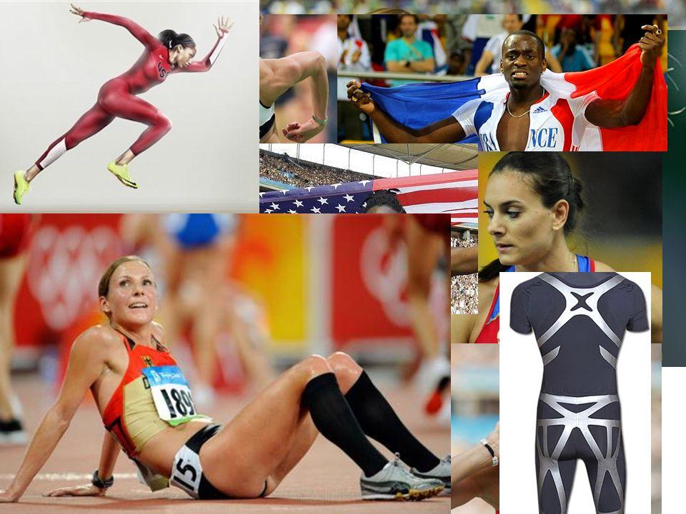 """""""Auftritte bei Wettkämpfen Entwicklungen und Trends in der Leichtathletik14 Kleidung Fingernägel Schmuck"""