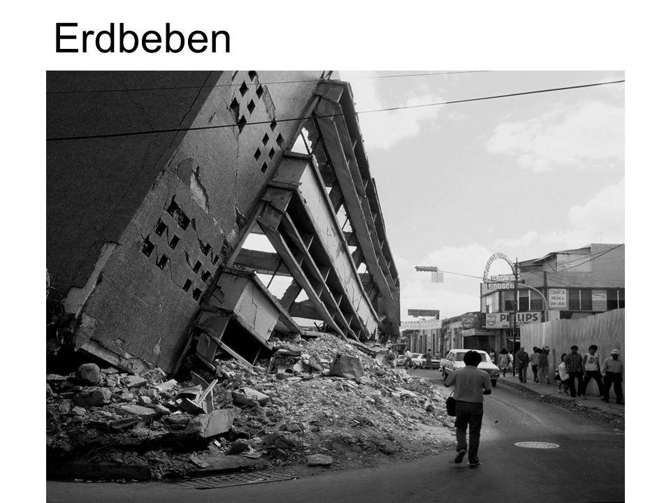Warum hat das Erdbebenrisiko in den letzten Jahrzehnten stark zugenommen.
