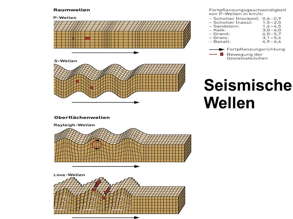 Sumatra-Beben am 26. Dezember 2004 Magnitude: 9.1 (drittstärkstes jemals aufgezeichnete Erdbeben )