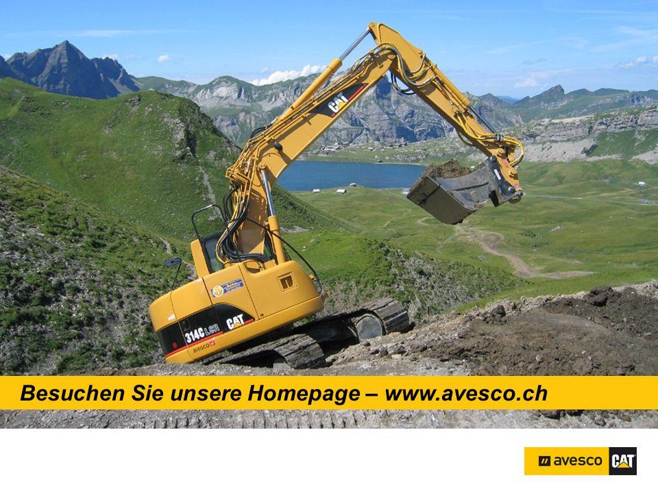 Besuchen Sie unsere Homepage – www.avesco.ch