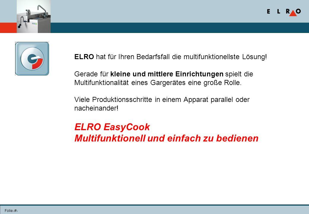 Folie 22 ELRO hat für Ihren Bedarfsfall die multifunktionellste Lösung.