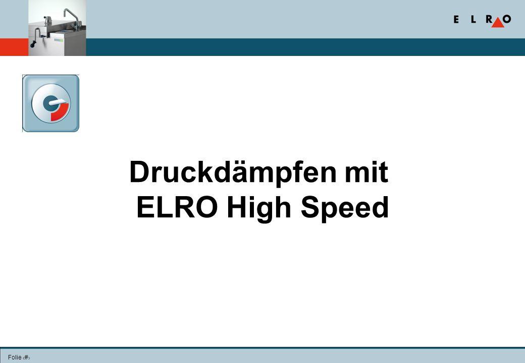 Folie 9 Der wahre High-speed?