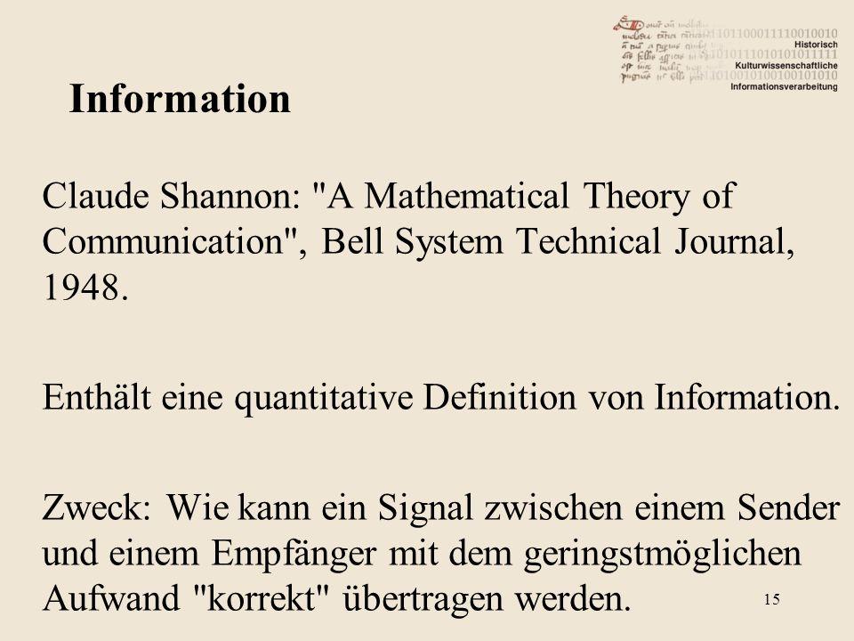 Claude Shannon: