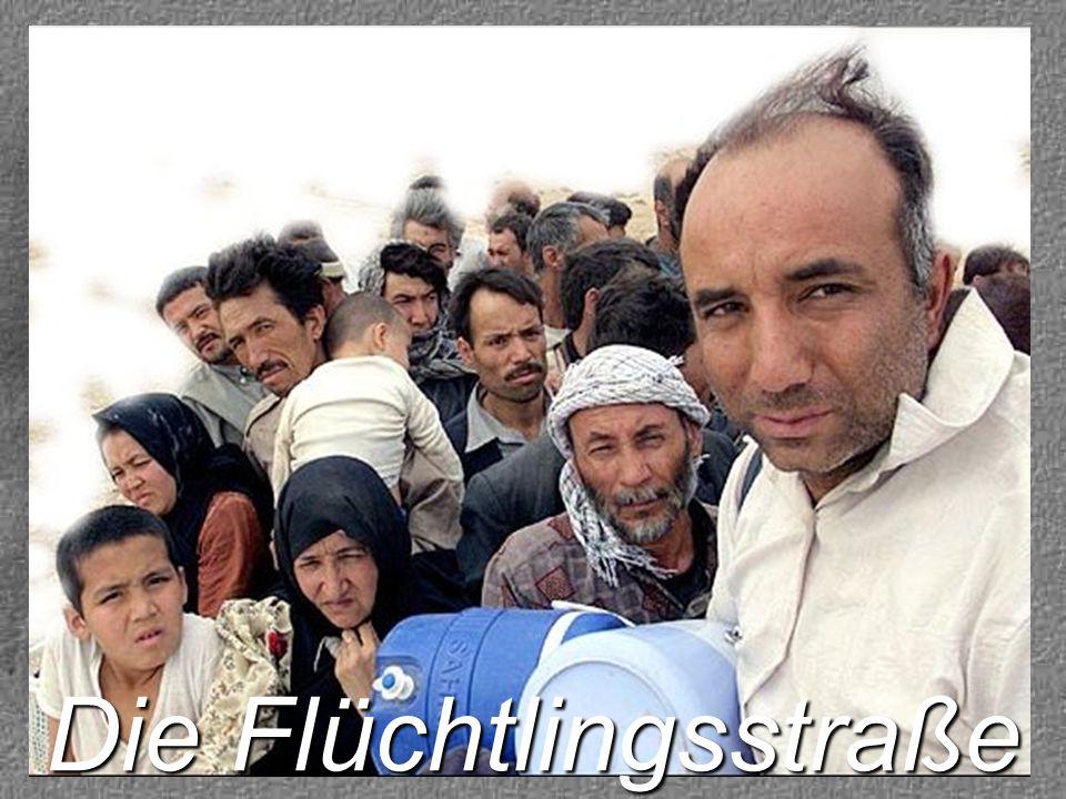 Gott hat schon viele auf ihrer Flüchtlingstraße begleitet.