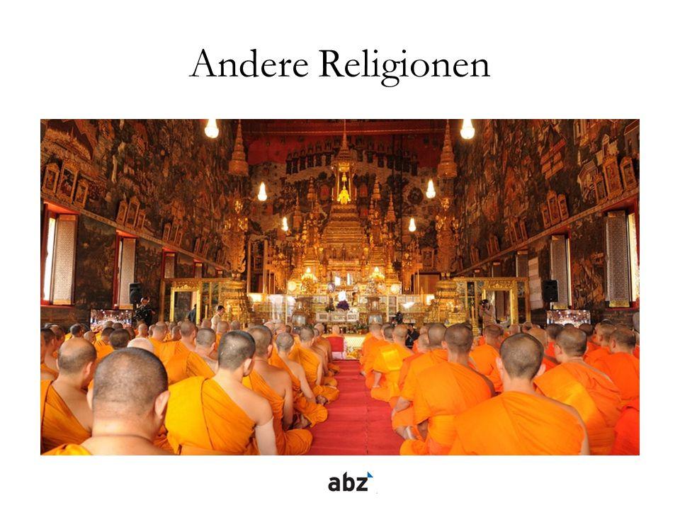 Andere Religionen