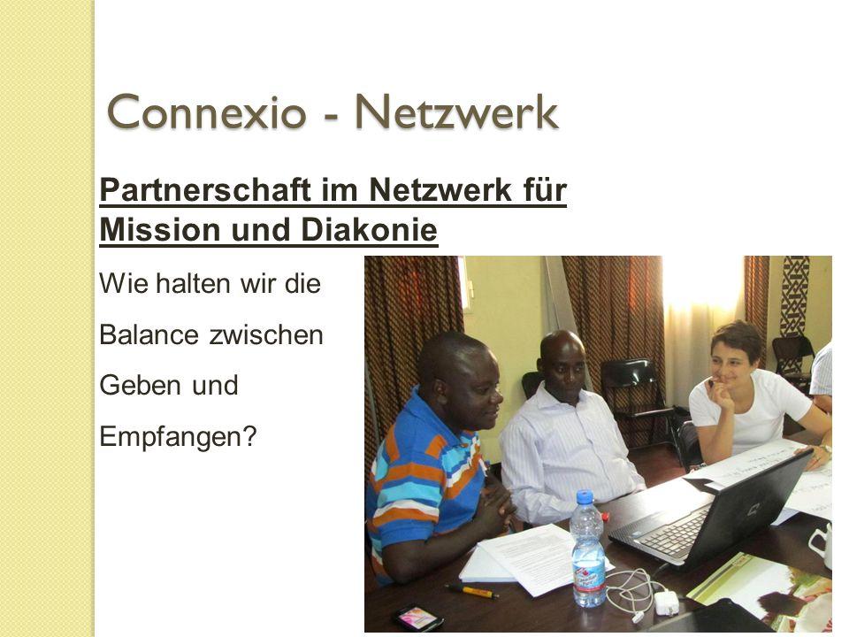 Partnerschaft im Netzwerk für Mission und Diakonie Wie halten wir die Balance zwischen Geben und Empfangen.