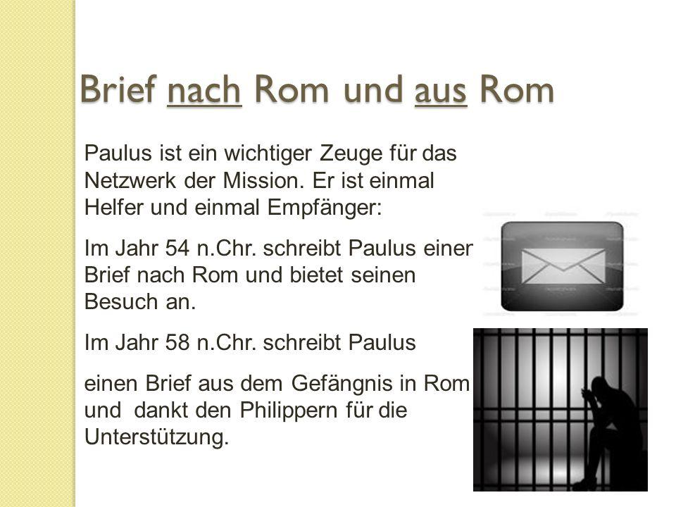 Paulus ist ein wichtiger Zeuge für das Netzwerk der Mission.