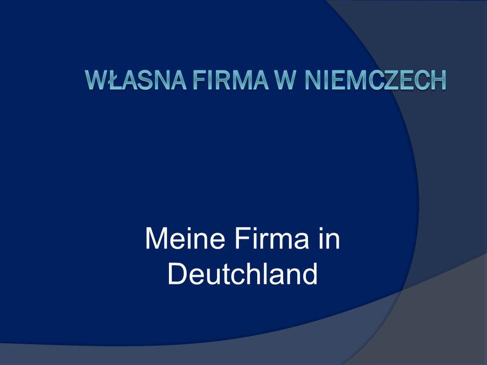 Meine Firma in Deutchland
