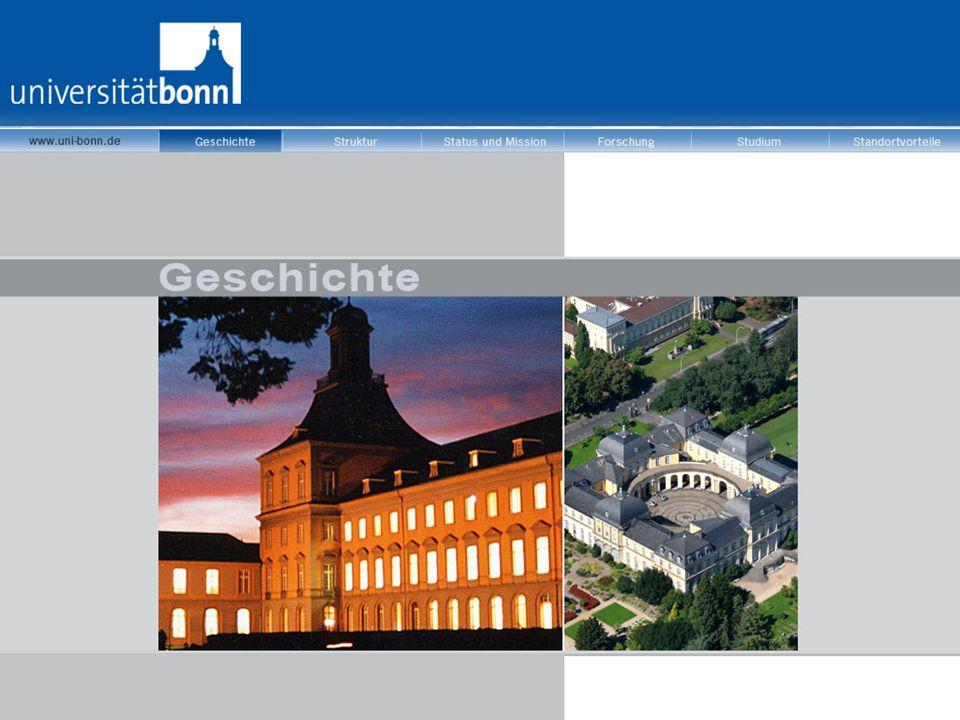 """Das Leitbild der Universität  international ausgerichtet  kooperationsorientiert  definierte Schwerpunkte  klassische """"Forschungsuniversität"""