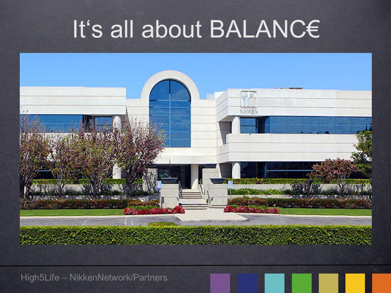 High5Life – NikkenNetwork/Partners It's all about BALANC€ Willkommen zur Geschäftspräsentation Sprecher heute: Wolfgang G.